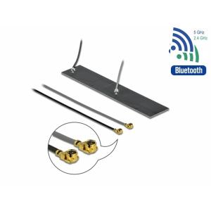Ringantenn: 2.2-4. dBi WLAN ac/ax/a/h/b/g/n, sisetingimustele, 2xMHF