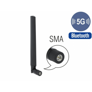 Ringantenn: -3.3-1.3 dBi 5G LTE, GSM, UMTS, sisetingimustele, SMA