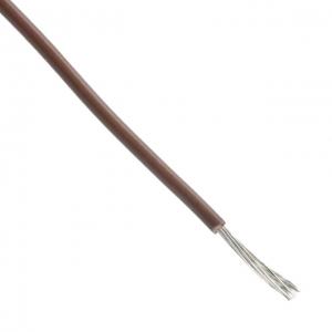 Montaažijuhe 0,23mm², pruun AWG24 PVC 1000V -40°C…80°C MIL-W-76 MW 305m