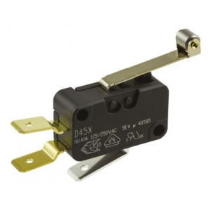 Mikrolüliti D459-V3RD, 250Vac, 16A, rulliga