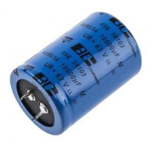 Elektrolüüt kondensaator 10000uF 63V 85°C 35X50mm, snap in, PSM, 056