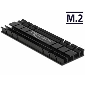 Radiaator 70mm M.2 moodulile, madal, must