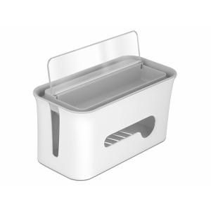 Juhtmete korrastamis karp, 287x135x138mm, valge/hall