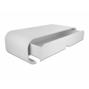 Alus monitorile, valge, kuni 40kg, ühe sahtliga, 505 x 230 x 160mm