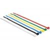 Kaablisidemed 200 x 3,6mm, värvilised 100tk/pk