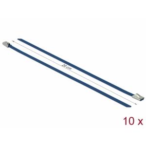 Kaablisidemed 200x4,6mm, terasest, sinised (10tk)