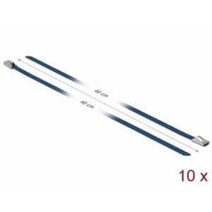 Kaablisidemed 400x4,6mm, terasest, sinised (10tk)