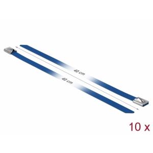 Kaablisidemed 400x7,9mm, terasest, sinised (10tk)