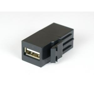 USB pesa paneelile, must SL, USB-A - USB-A
