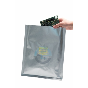 Antistaatilised niiskustõkke kotid 75µ grip 102x152mm/100