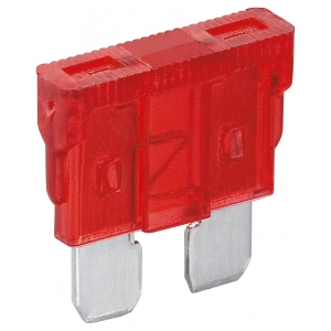 Auto kahvelkaitse 10A, punane 6tk