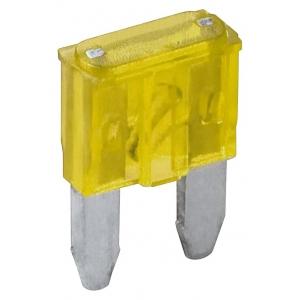 Auto kahvelkaitse mini 20A, kollane 6tk