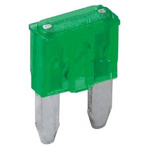 Auto kahvelkaitse mini 30A, roheline 6tk