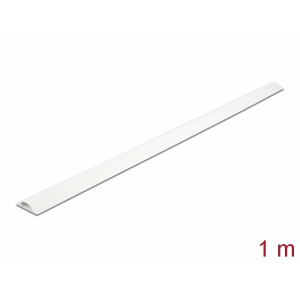 Kaablikaitse põrandale 1.0m, valge, 30x8mm