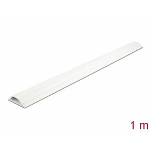 Kaablikaitse põrandale 1.0m, valge, 50x12mm