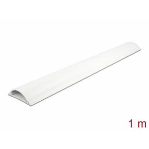 Kaablikaitse põrandale 1.0m, valge, 70x20mm