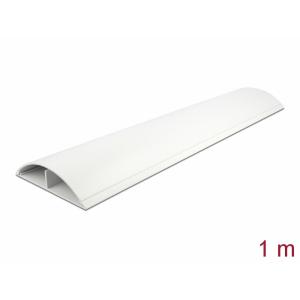Kaablikaitse põrandale 1.0m, valge, 119x26mm