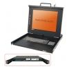 KVM 15´´ LCD Terminal, 19´´ räkitav