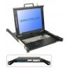 KVM 17´´ LCD Terminal, 19´´ räkitav