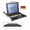 KVM Switch, 8 porti + 17´´ LCD Terminal