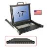 "17""/43,2cm LCD KVM Switch U8C Terminal CLASSIC, US layout"