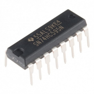 IC SN74HC595N 8-bit SIPO shift register