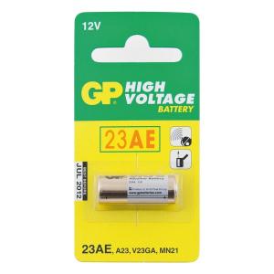 Patarei 12V 50mAh 10,3 x 28,5mm Alkaline GP23A/V23GA