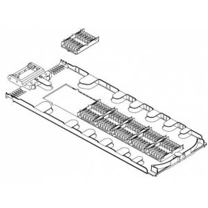 FO muhvi plaat FOSC-D-TRAY-72-1