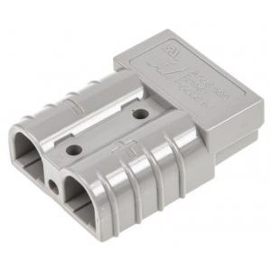 Anderson 50A tugevvoolu pistik, hall (2tk. pakis), kontakt 290-6118