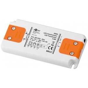 Toiteplokk LED 6W 12V, 500mA