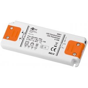Toiteplokk LED 12W 12V, 1A