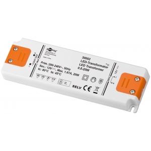 Toiteplokk LED 20W 12V, 1.67A