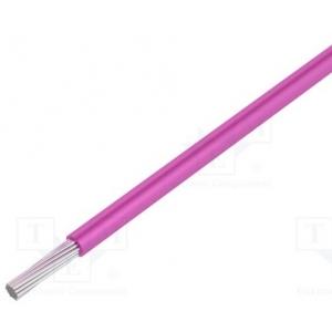 Montaažijuhe 0,23mm², roosa AWG24 UL1007/1569 30,5m