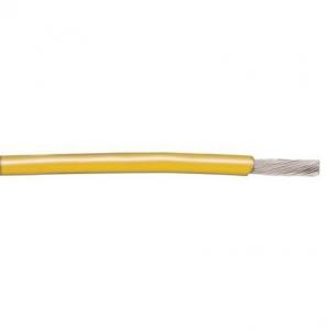 Montaažijuhe 0,23mm², kollane AWG24 UL1007/1569 30,5m
