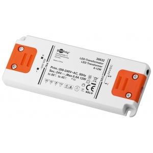 Toiteplokk LED 12W 24V, 500mA
