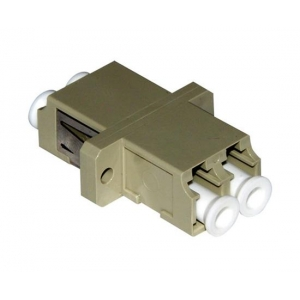 FO adapter multimode LC duplex beez