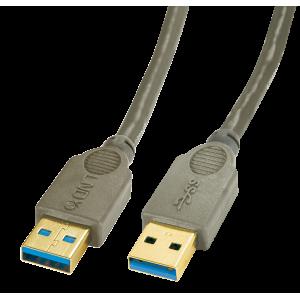 USB 3.0 kaabel A - A 2.0m, antratsiit