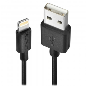 USB 2.0 - Lightning kaabel 1.0m, iPod, iPhone, iPad, must