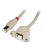 USB 2.0 kaabel B(M) - B(F) 0.5m