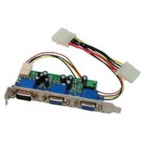 VGA splitter, 2 porti, sisene