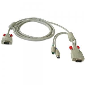 KVMi kaabel VGA + 2x PS/2 5.0m