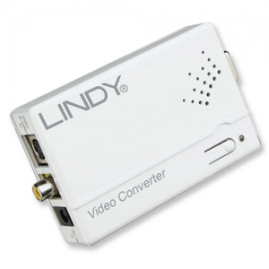 Konverter RCA (S-Video) - VGA, valge