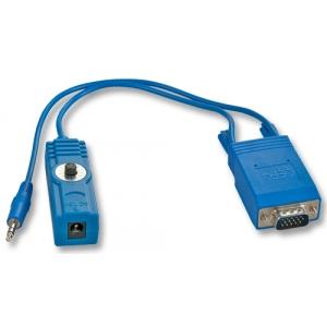 VGA + Audio pikendaja (vastuvõtja kuni 150.0m)