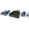 KVM Switch: 2 porti, USB & VGA