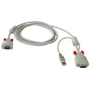 KVMi kaabel VGA + USB 3.0m