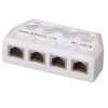 UTP 10/100 pordi jagaja 4x CAT5 Ethernet