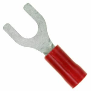 Kahvel M5 0,3...1,4mm² juhtmele, punane 9,5mm