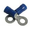 Rõngas M4 1,5...2,5mm² juhtmele, sinine