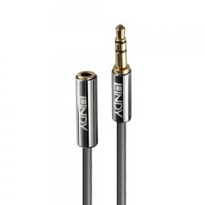 3.5mm pikenduskaabel 0.5m, kullatud kontaktid, CROMO