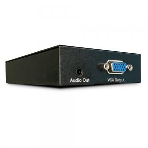VGA + Audio pikendaja läbi CAT5/6 kaabli, kuni 300m (vastuvõtja) kasutada koos LIN35401